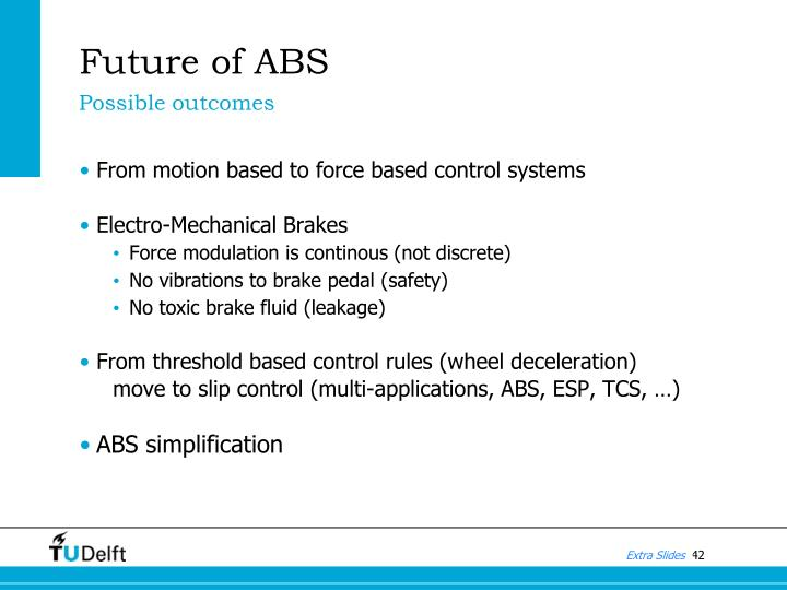 Future of ABS