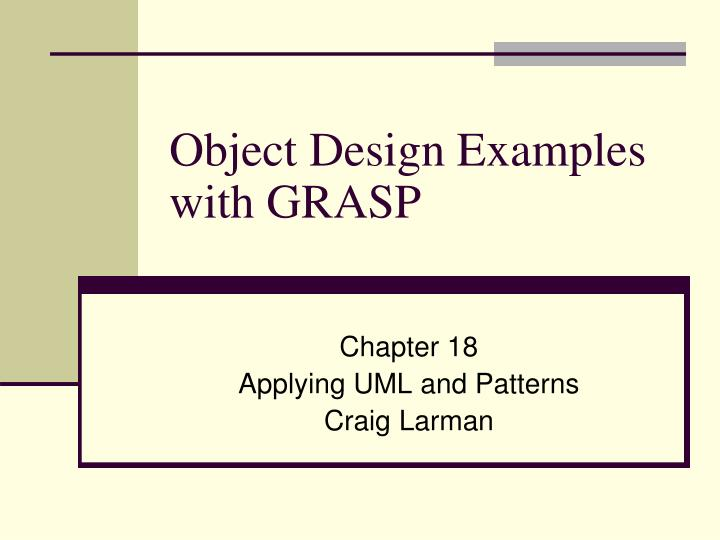 the general pattern of creating a software through analysis design and implementation This chapter takes you through the steps  the general layout of furnaces is  the fundamental understanding and implementation of how to lay out process.