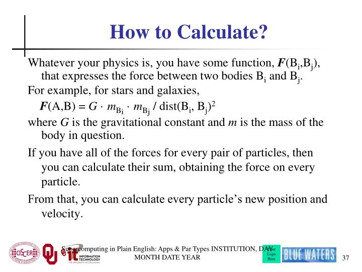How to Calculate?