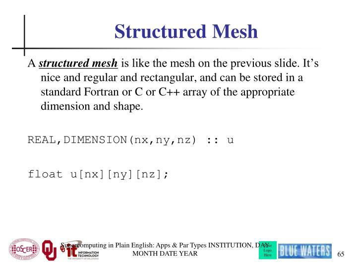 Structured Mesh
