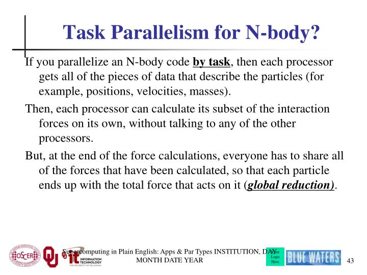 Task Parallelism for N-body?