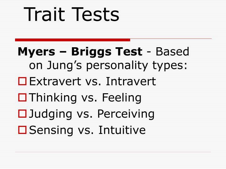 Trait Tests