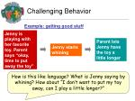 challenging behavior1