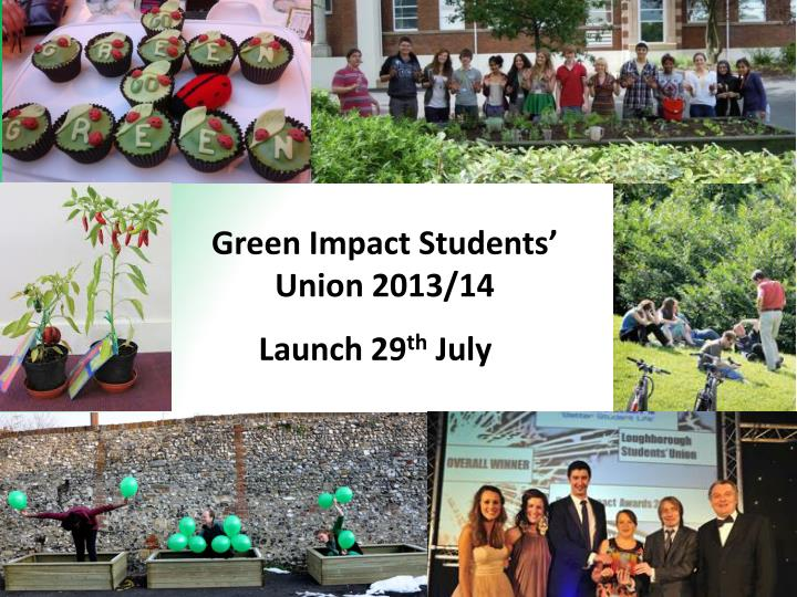 Green Impact Students' Union 2013/14