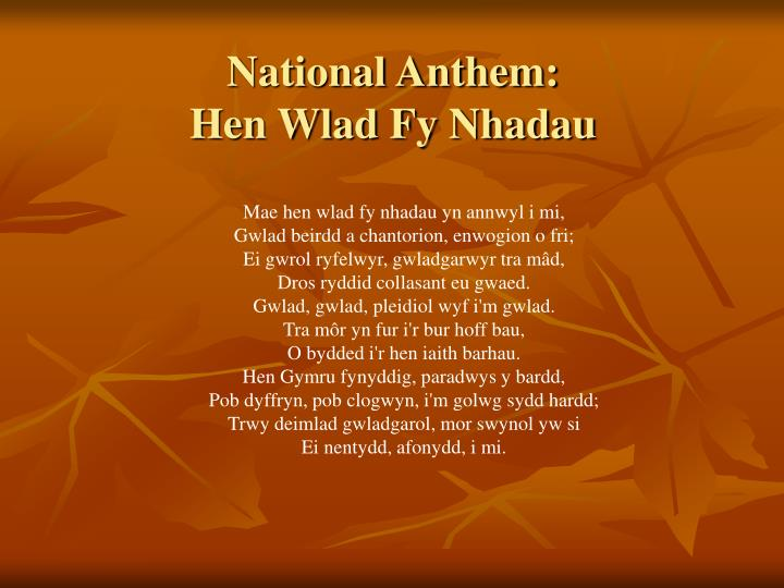 National Anthem: