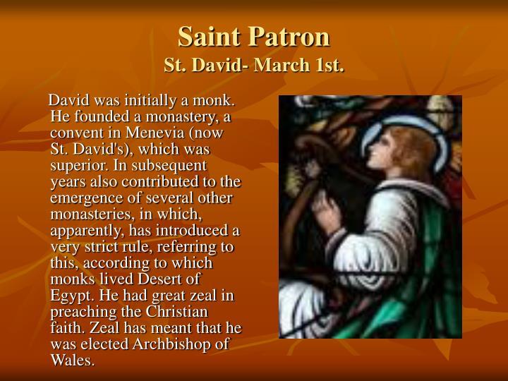 Saint Patron