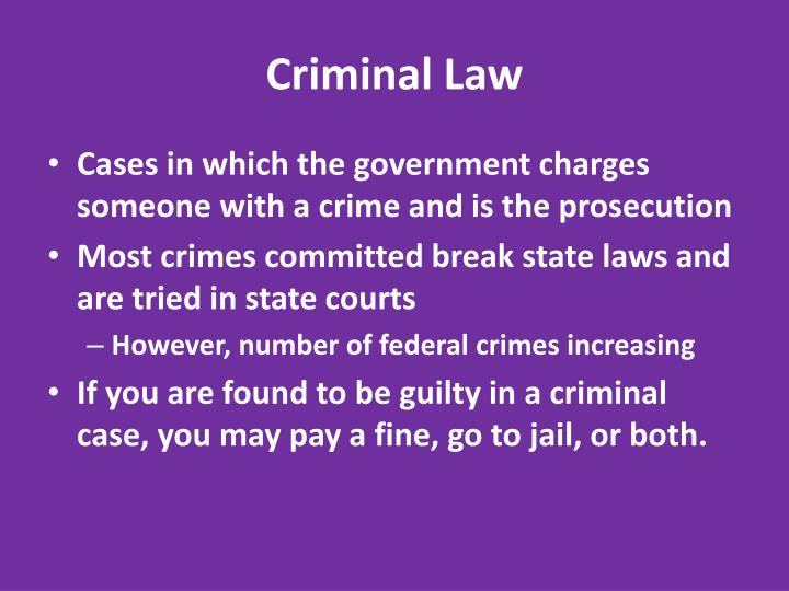 Criminal law1
