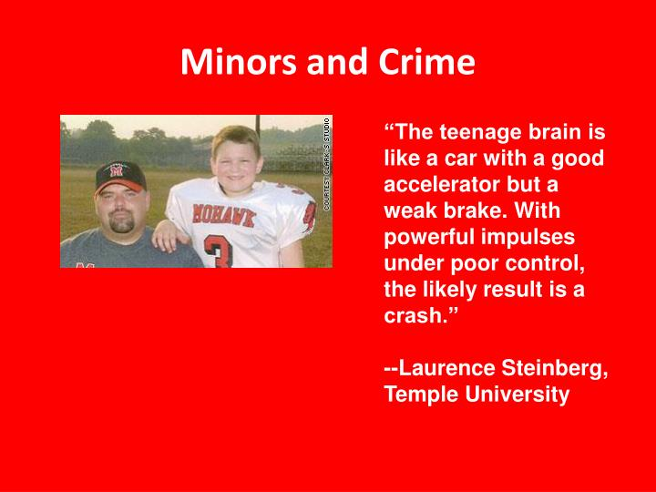 Minors and Crime