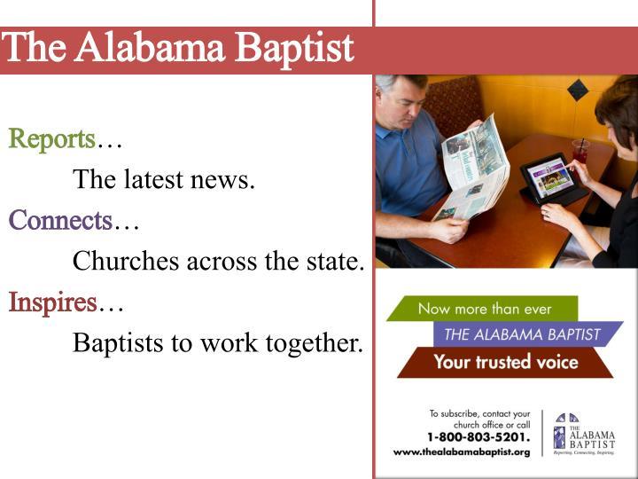 The alabama baptist