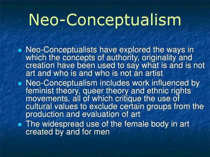 Neo-Conceptualism