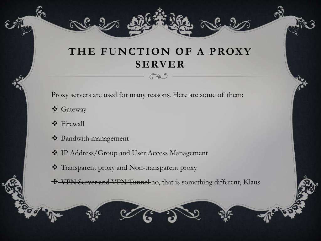PPT - PROXY SERVER PowerPoint Presentation - ID:2787787
