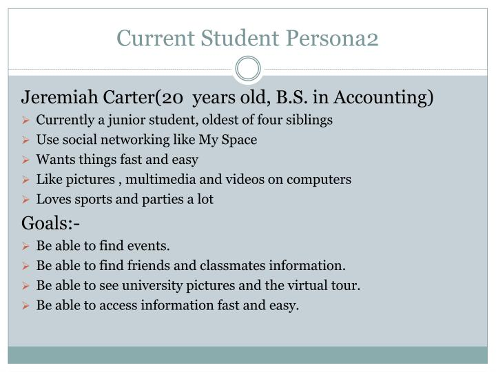 Current Student Persona2
