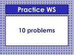 practice ws