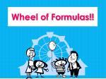 wheel of formulas