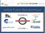 unified transit data warehouse