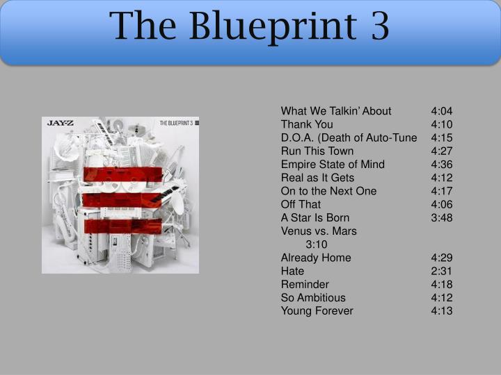 Ppt jay z powerpoint presentation id2788763 the blueprint 3 what we talkin about malvernweather Images