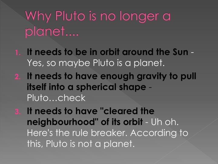 why is pluto no longer a planet bbc news - 720×540