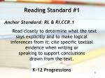reading standard 1