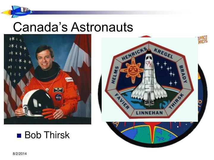 Canada's Astronauts