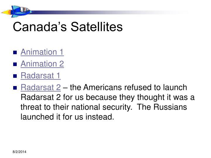 Canada's Satellites