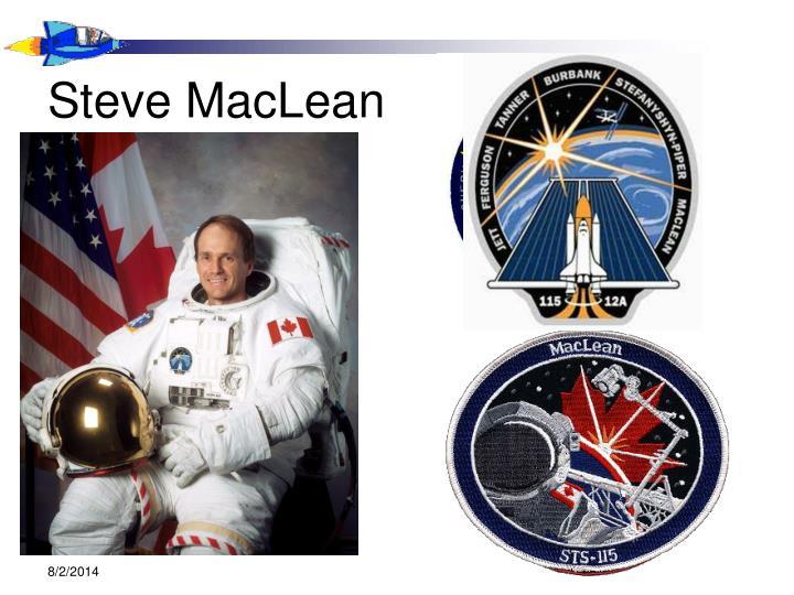 Steve MacLean