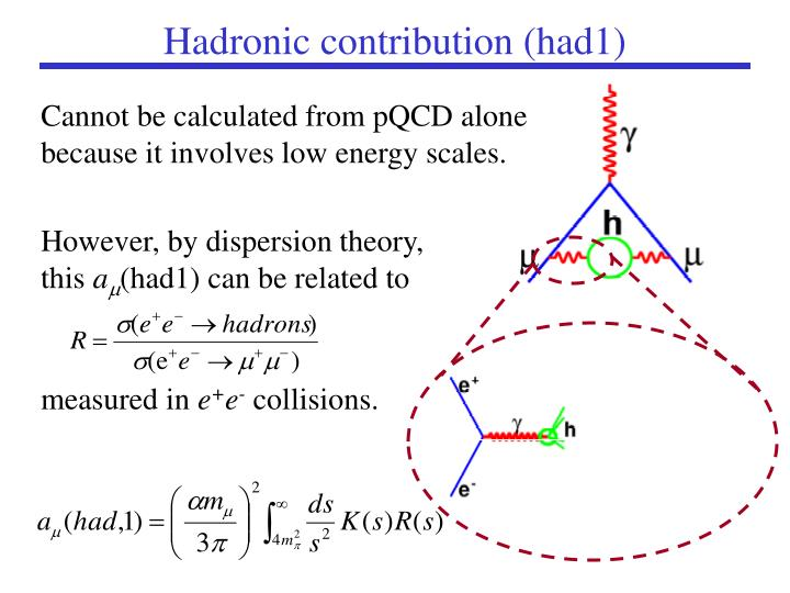 Cannot be calculated from pQCD alone