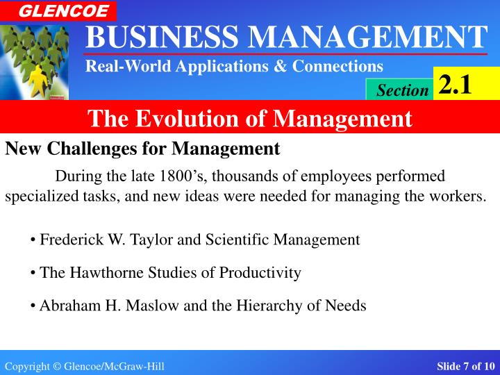 New Challenges for Management