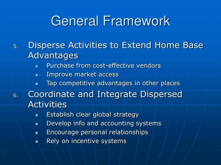 General Framework