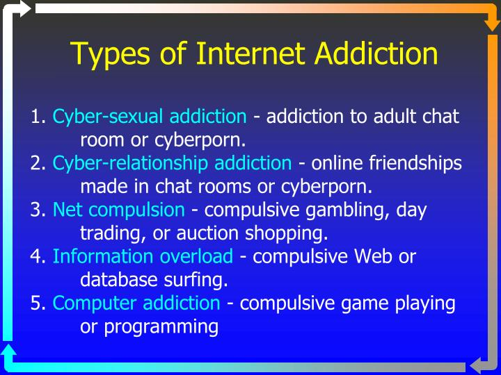 ppt elaine brady ph d m f t certified addiction therapist types of internet addiction