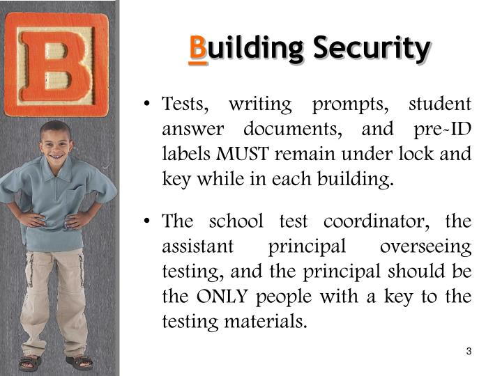 B uilding security