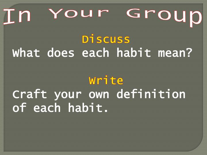 In Your Group