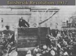 bolshevik revolution 19171