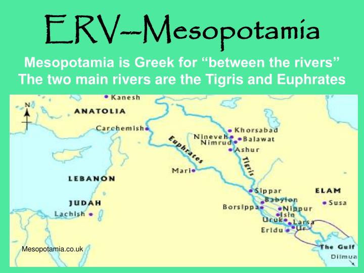 Erv mesopotamia