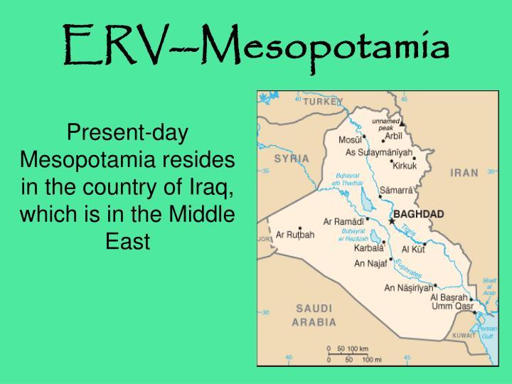 Erv mesopotamia1