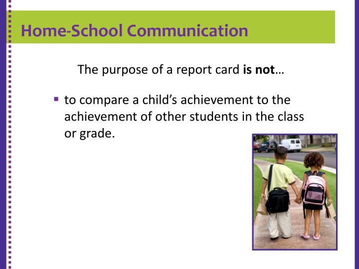 Home-School Communication