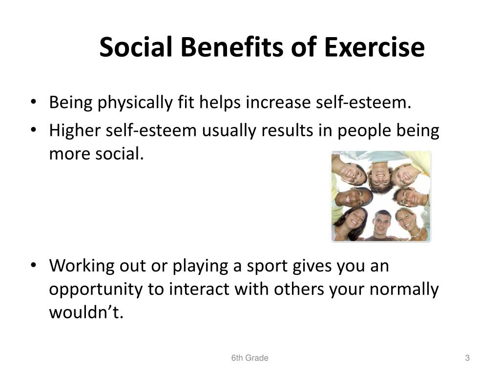 PPT - Benefits of Exercise PowerPoint Presentation, free ...