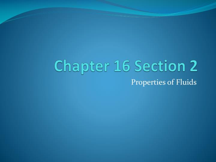 chapter 16 section 2 n.