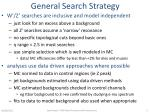 general search strategy