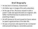brief biography1