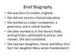brief biography5