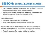 lesson coastal barrier islands1