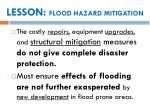lesson flood hazard mitigation2