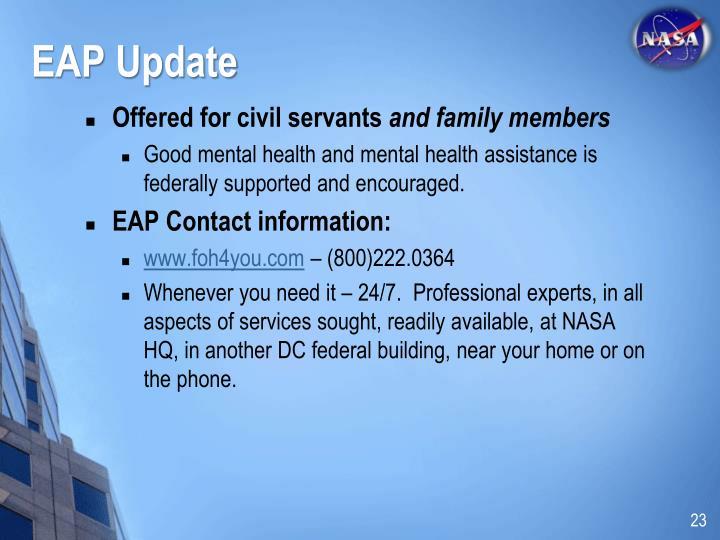 EAP Update