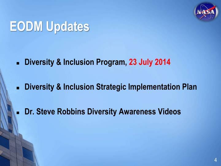 EODM Updates