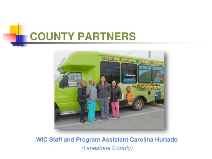 COUNTY PARTNERS