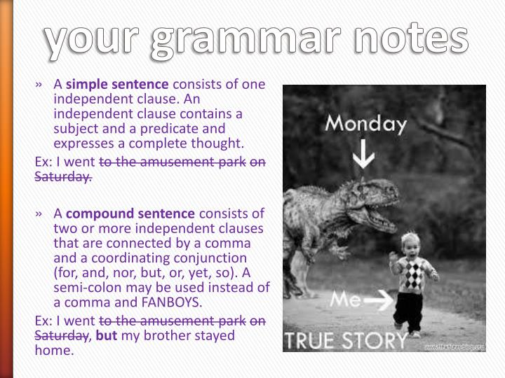 happy monday add these definitions to your grammar notes n.