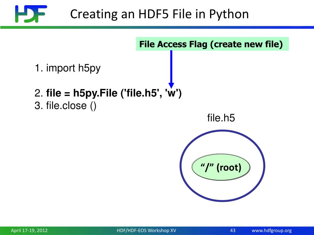 How To Open H5 File Python