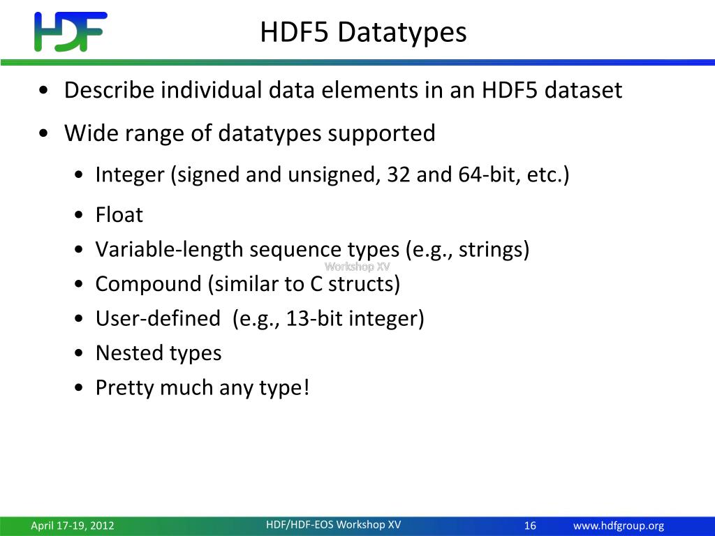 PPT - Introduction to HDF5 PowerPoint Presentation - ID:2792674
