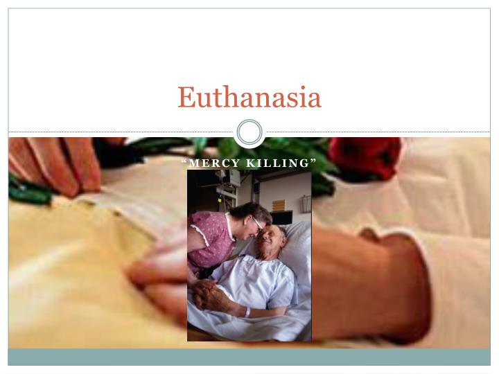 euthanasia what is the moral thing to do This not only excludes the possibility of passive euthanasia (assuming this to be morally permissible) but also excludes the possibility of a moral debate about the ethical standing of euthanasia and surely we should not foreclose on moral debate in this way.