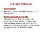 indicator 2 dropout1